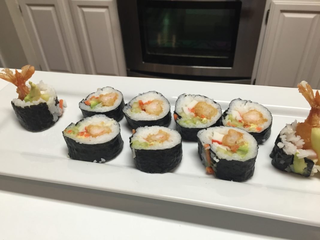 Sushi Rolls | Rice Roll's| Shrimp Tempura Rolls | California Rolls | Sushi Rice