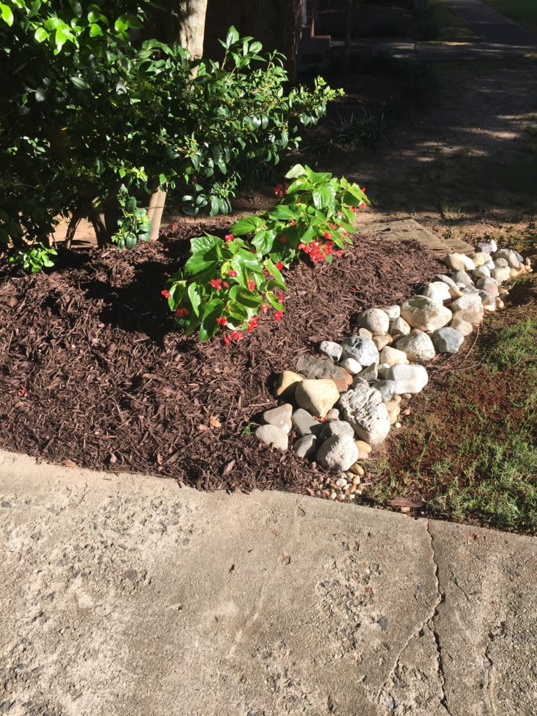 My 1st 2nd And Last Attempt At A Diy Dry River Bed