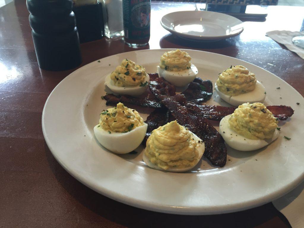 Deviled Eggs for Brunch at Bricktops in Buckhead, GA