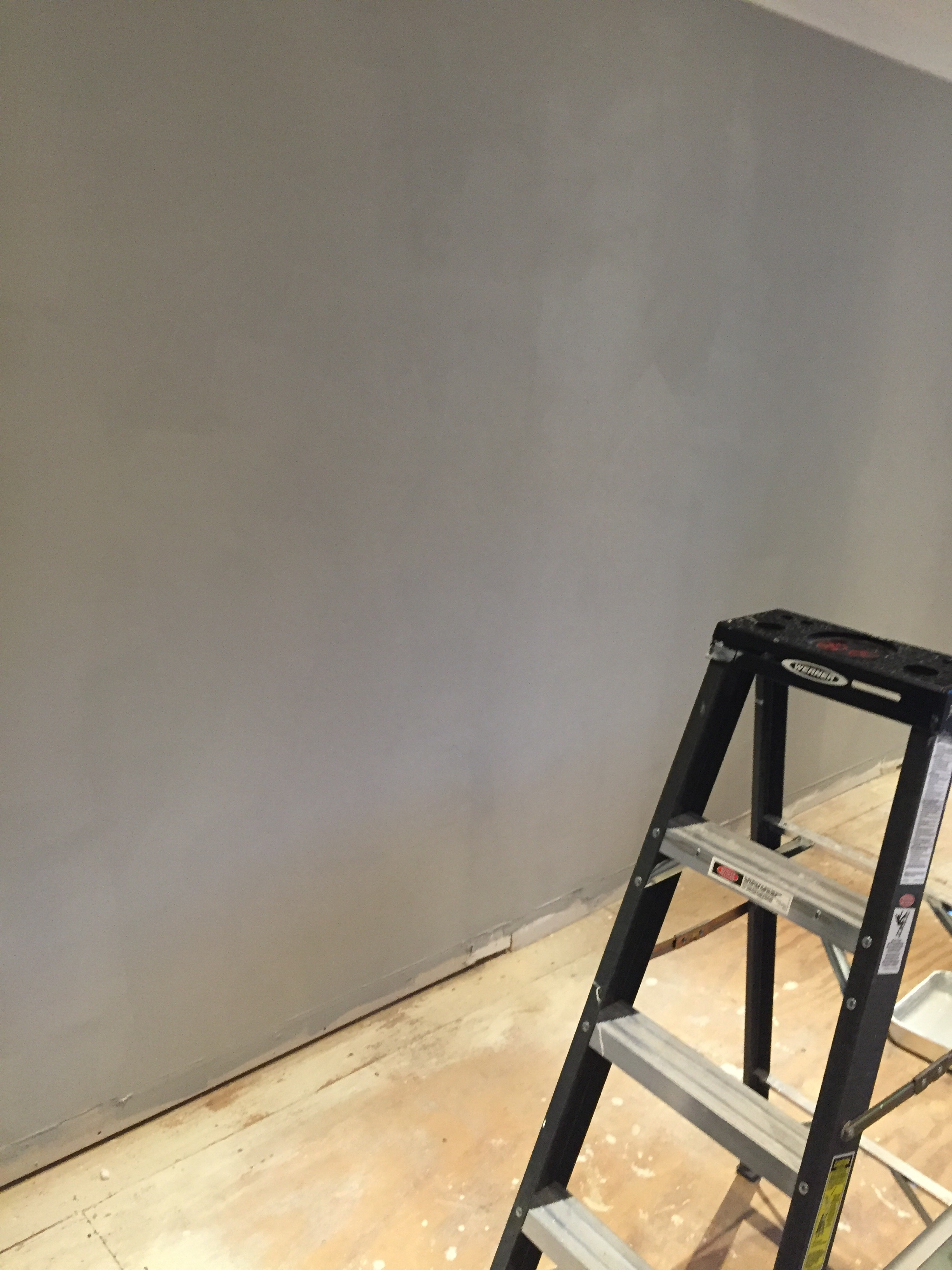 Benjamin Moore Chelsea Gray Paint Color for a Bonus Room Makeover