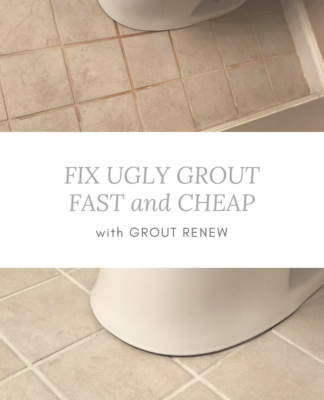 Grout Renew | Update grout color | DIY Makeover