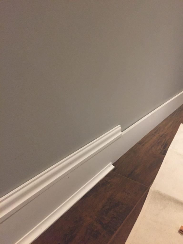 update your space using wood trim bonus room makeover. Black Bedroom Furniture Sets. Home Design Ideas