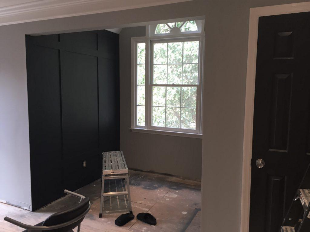 DIY Board and Batten   DIY Room Makeover