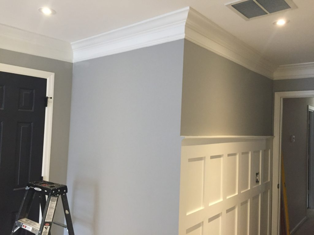Update a room with wood trim   Crown Molding   Board and Batten