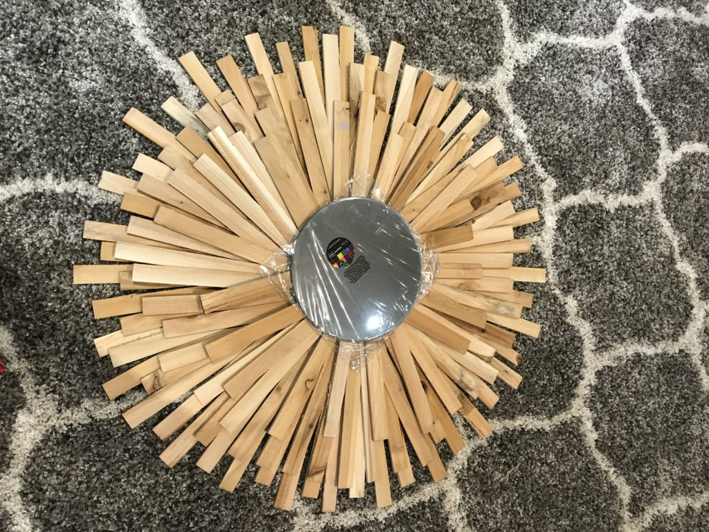 Sunburst Mirror DIY- Cheap and Creative Wall Art with Wood Shims