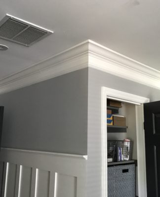 Update a Room with DIY Wood Trim | Board and Batten | Crown Molding