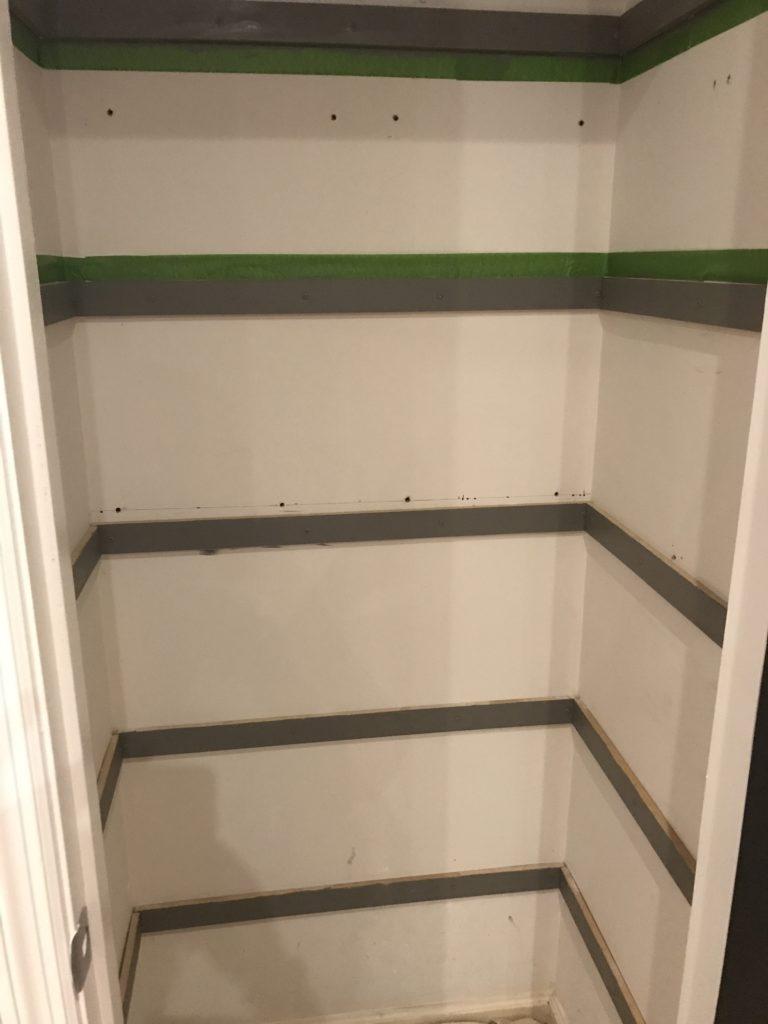 DIY Closet Shelves | Closet Storage | Home Office Closet Storage | Home Office Storage