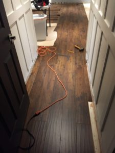 DIY Installing Laminate Flooring | Sam's Select Surfaces Cocoa Walnut