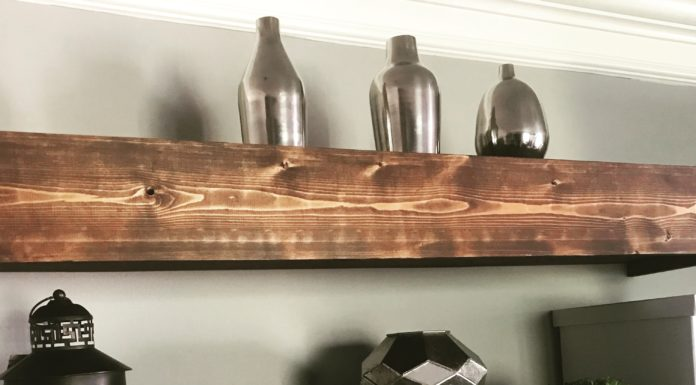 DIY Floating Shelves | Media Shelves | DIY FLoating Shelf | Room Makeover | DIY Projects
