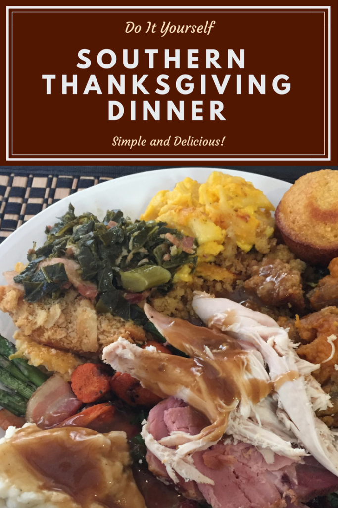 Thanksgiving the Southern Way | Herb Butter Roasted Turkey | Sweet Potato Souffle | Smoked Turkey Recipe | Holiday Dinner | Southern Collard Greens | Macaroni and Cheese | Bourbon Bread Pudding | Sweet Honey Corn Muffins | Sweet Cornbread