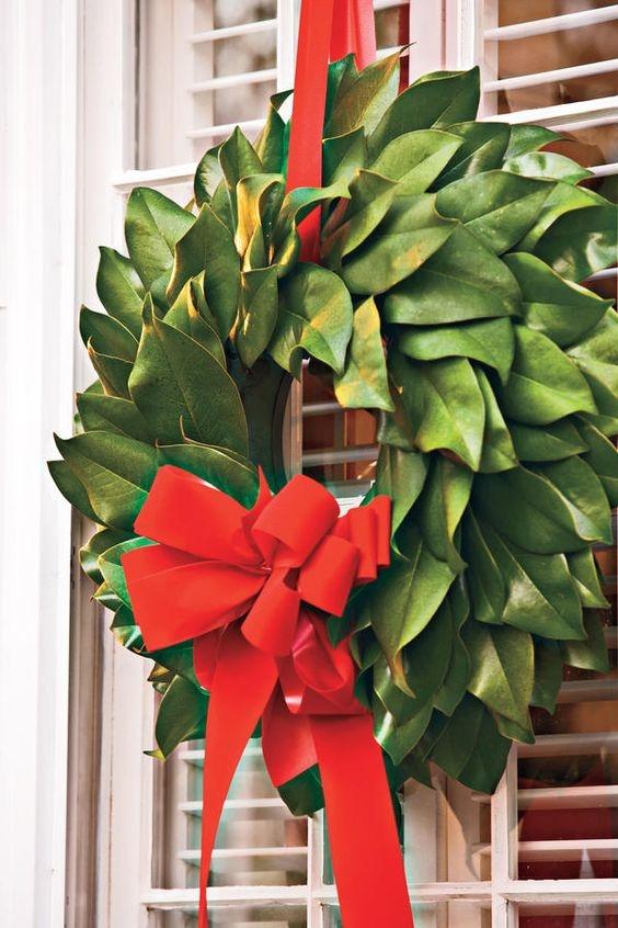 Outdoor Wreath. Magnolia Wreath, Christmas Decor, Christmas Wreath, Door Wreaths