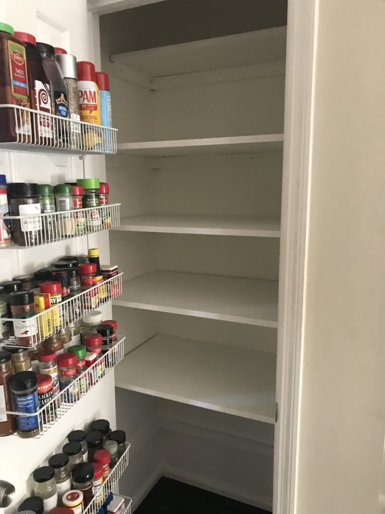 Organizing The Pantry With Diy Shelves And Storage Containers