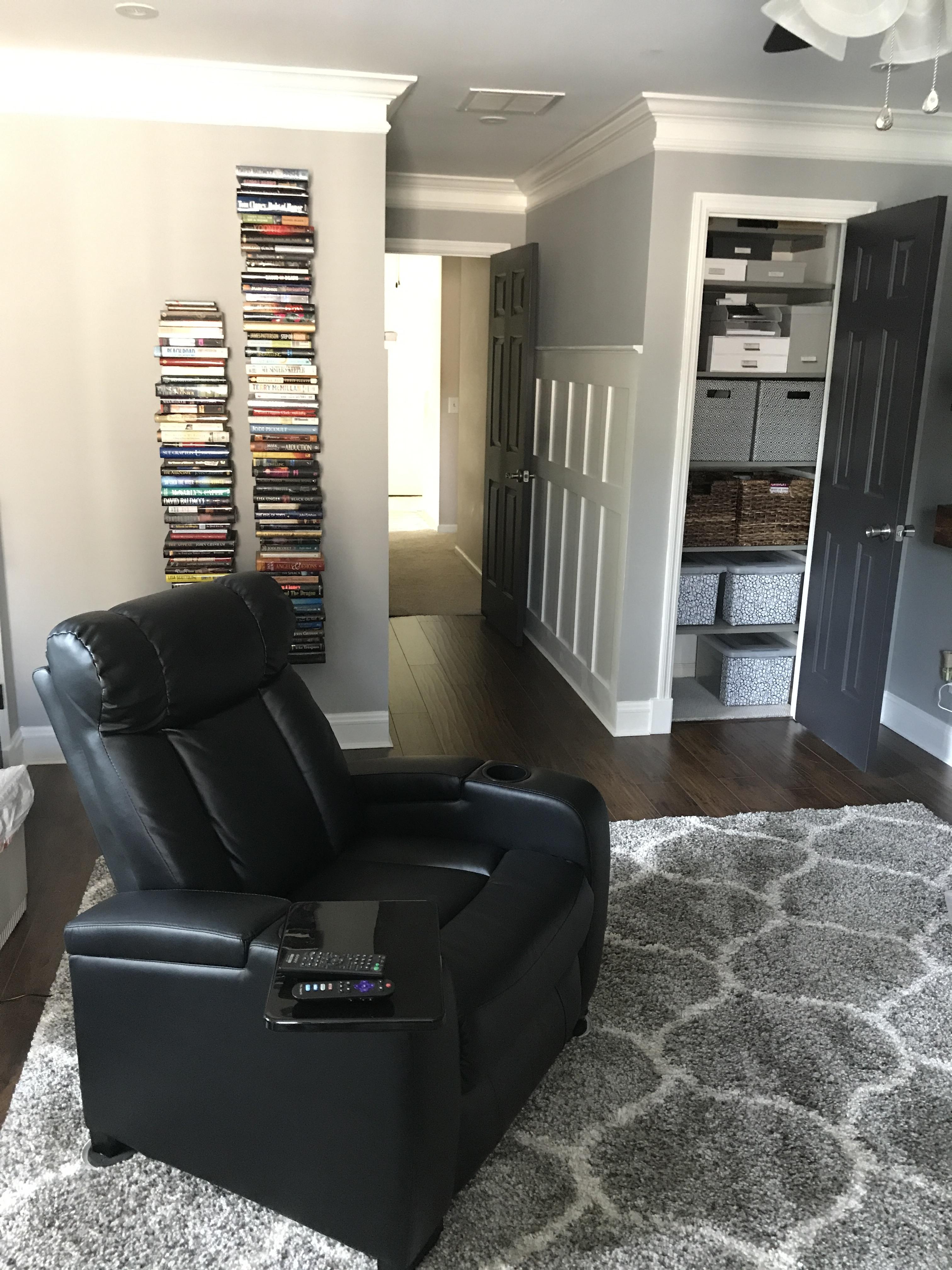 Diy Closet Shelves For Storage Bonus Room Makeover